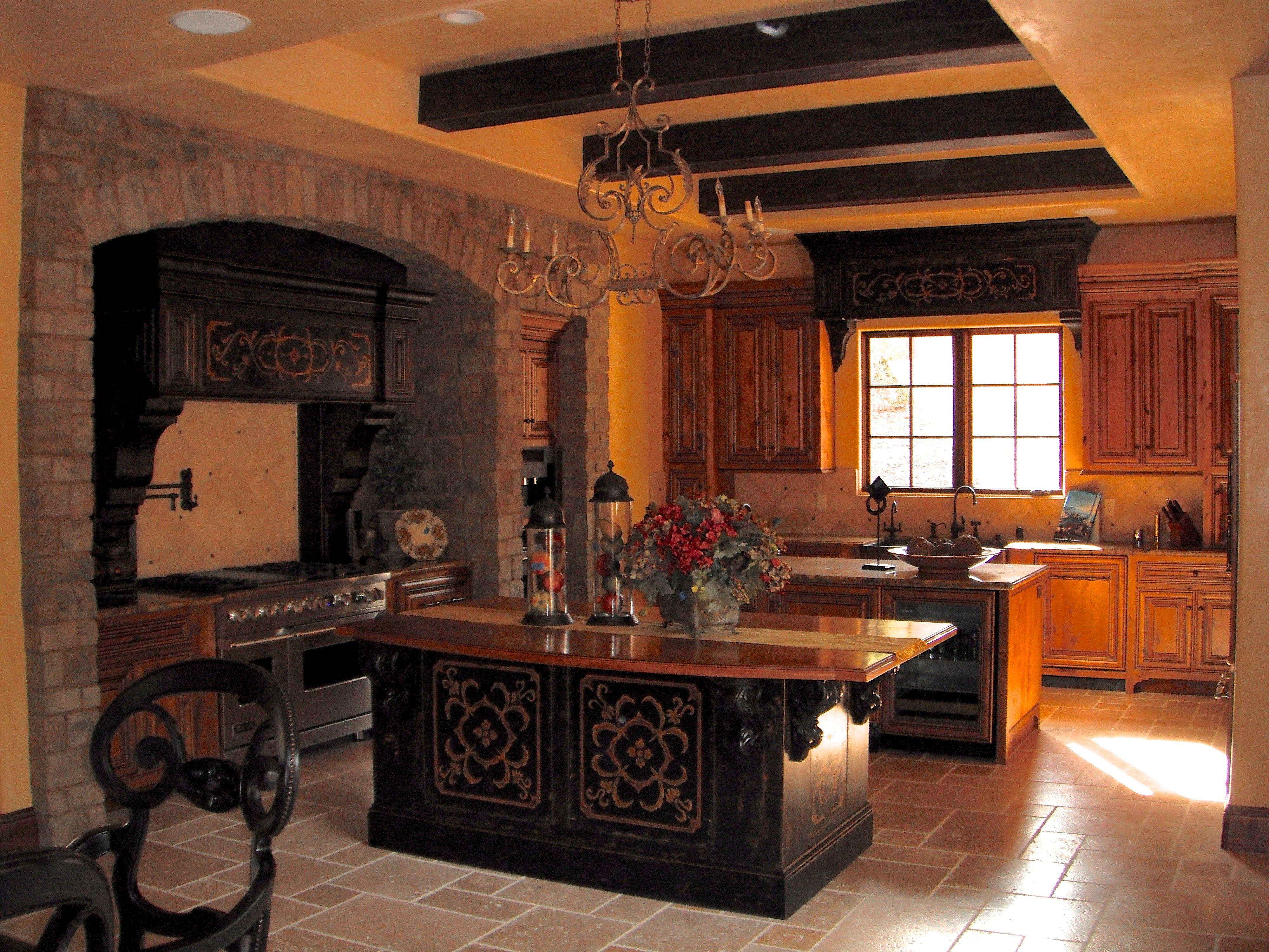 Tuscan Villa Moore Design